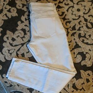 Old Navy white denim pants